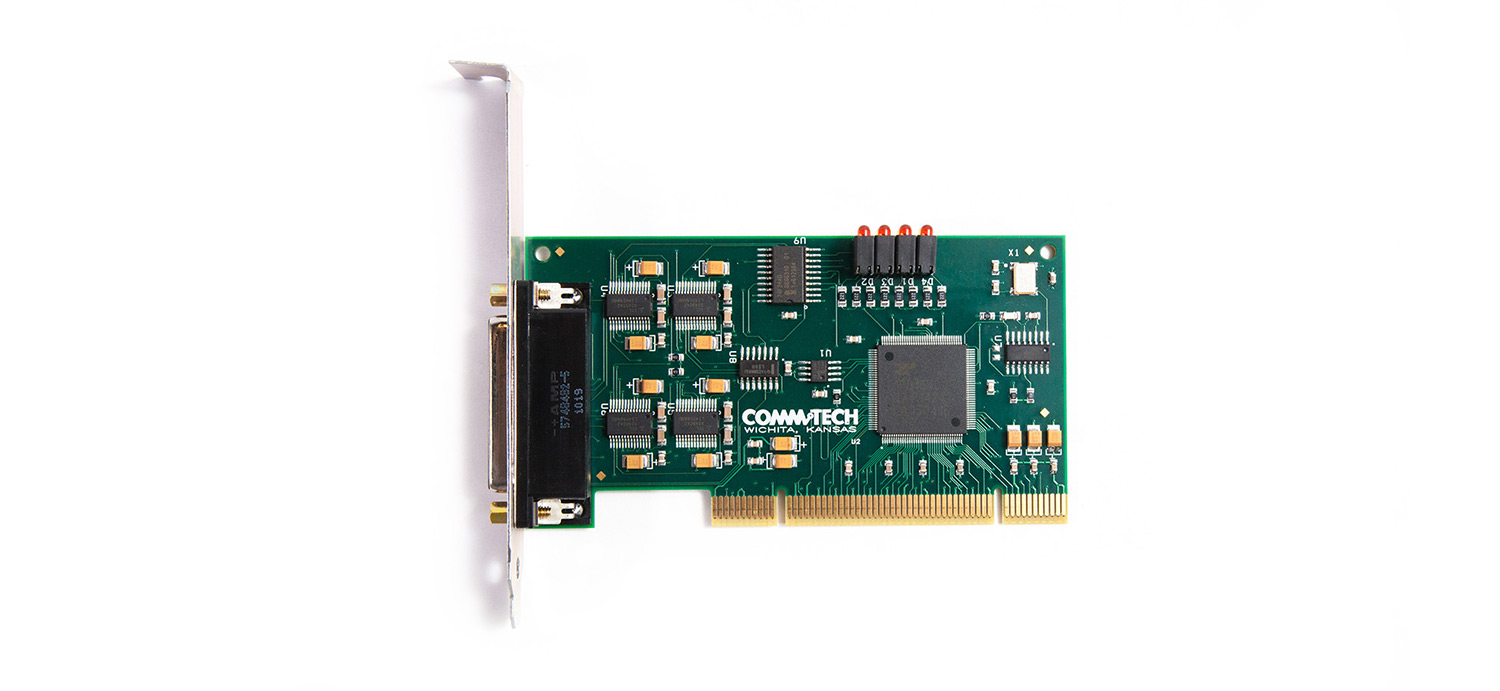 Fastcom G232 4 Pci 335 Asynchronous Rs232 Port Serial Card Usb Commtech 232 Image6