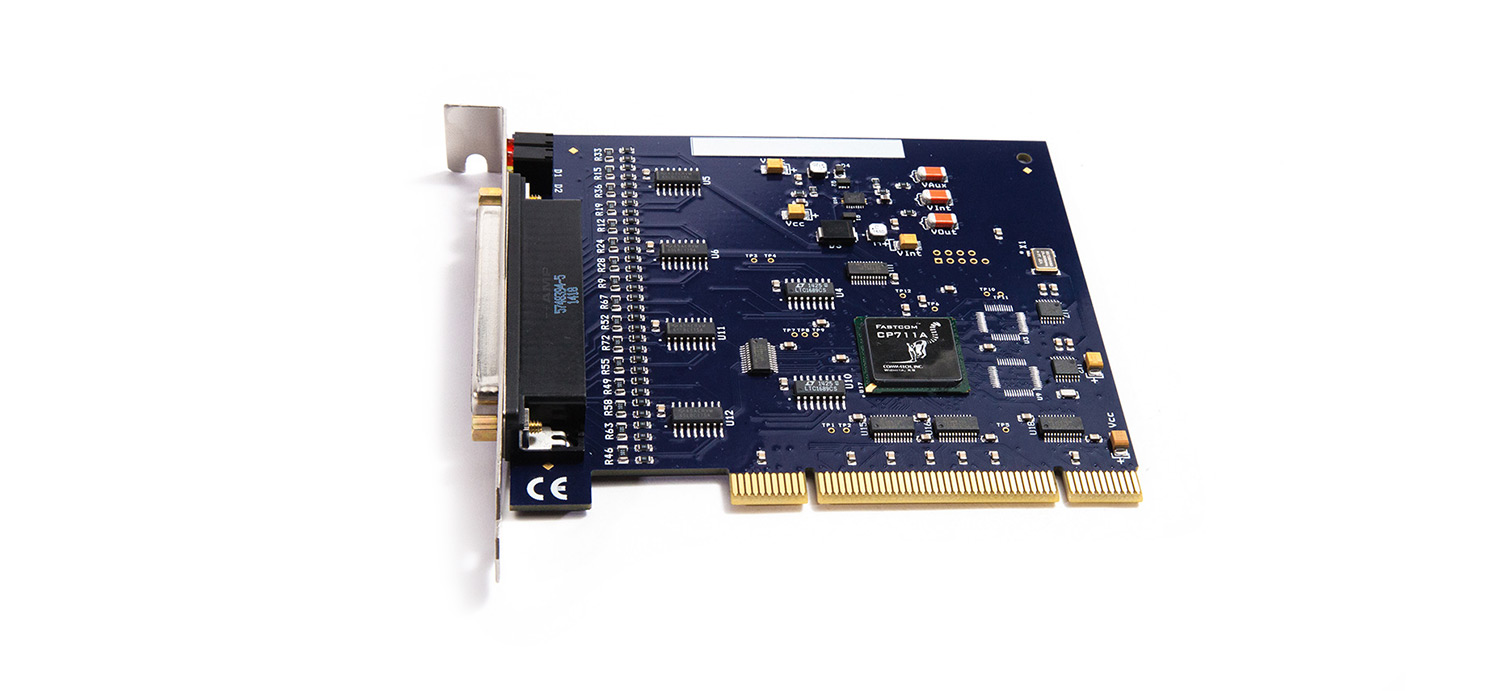 Fastcom: FSCC synchronous RS422 & RS485 Communications Interface